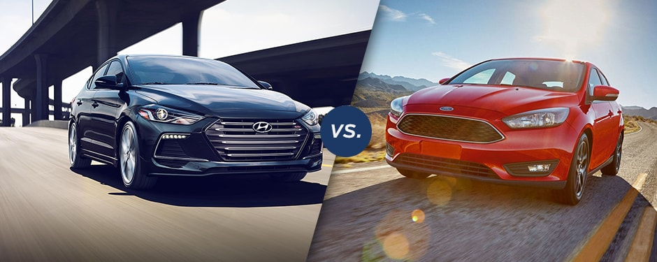 Comparison: 2017 Hyundai Elantra vs 2017 Ford Focus