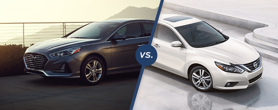 Comparison: 2018 Hyundai Sonata Vs 2018 Nissan Altima