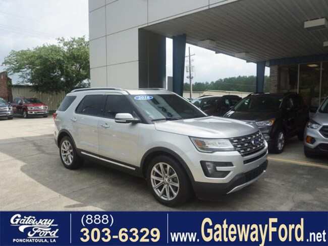 2016 Ford Explorer Limited FWD SUV