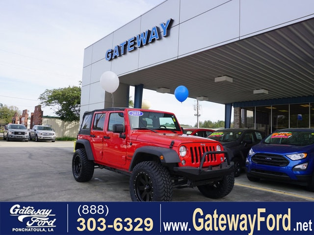 2018 Jeep Wrangler Unlimited Sport 4WD SUV