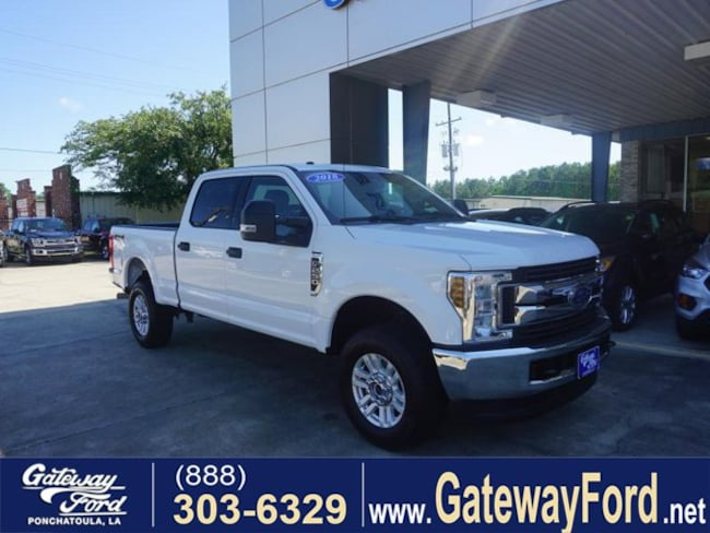 2018 Ford F-250 XLT 4WD 6.75ft Box Crew Cab