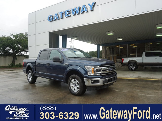 2018 Ford F-150 XLT 4WD 5.5 Box Supercrew