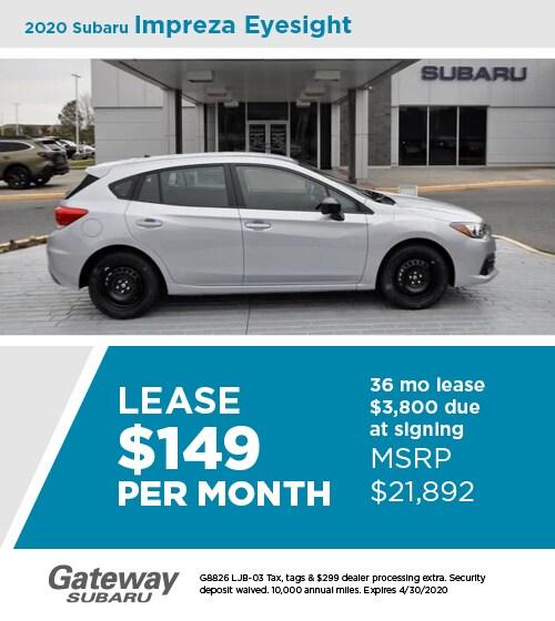 2020 Subaru Impreza Eyesight