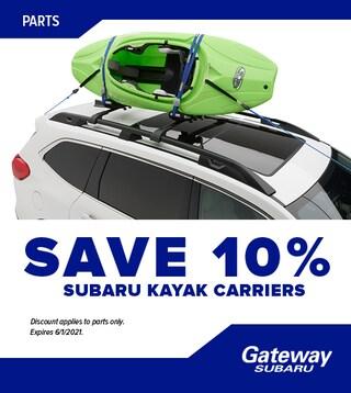 Subaru Kayak Carriers