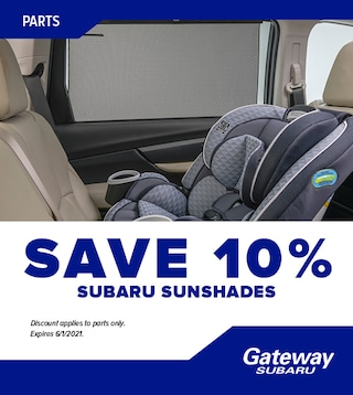 Subaru Sunshades