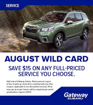Save $15 on any full-priced service you choose!