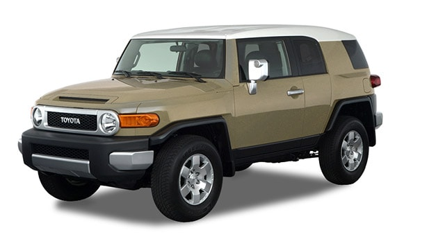 2014 Toyota FJ Cruiser 6M Exterior Front End