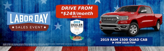Chrysler, Dodge, Jeep, Ram Dealer in Melbourne, FL - Gator