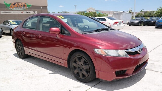 Used 2011 Honda Civic Lx For Sale Melbourne Fl