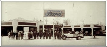 Gaudin Ford in the early days.