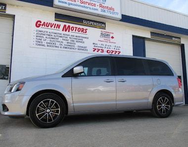 2018 Dodge Grand Caravan GT LEATHER NAV DVD P. SLIDERS Minivan
