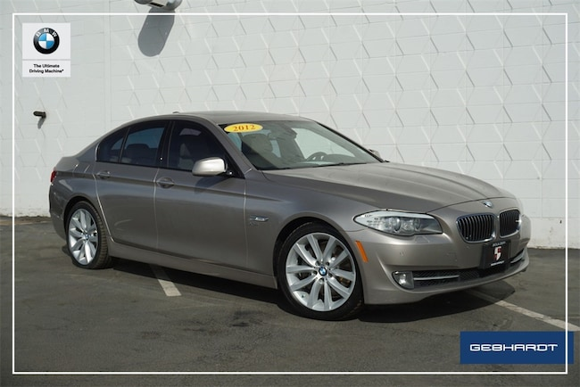 2012 BMW 5 Series 535i Xdrive Sedan