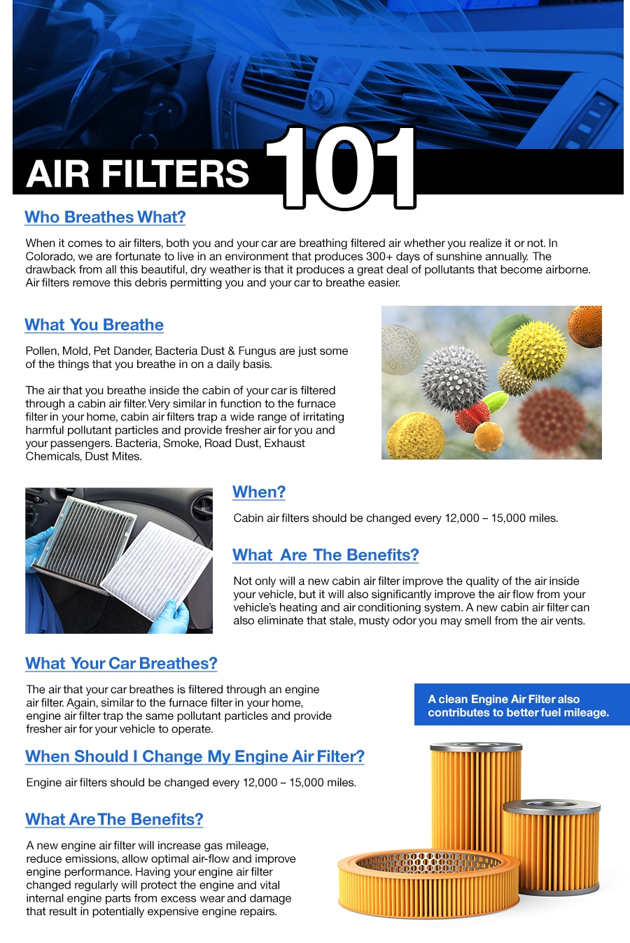 Air Filters 101 | Gebhardt BMW