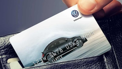 VW Service Credit Card.