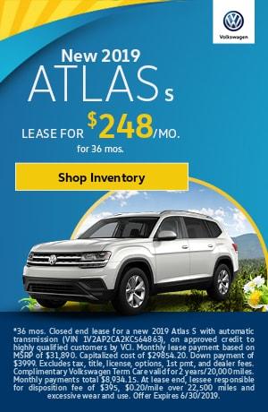 2019 Atlas S - June