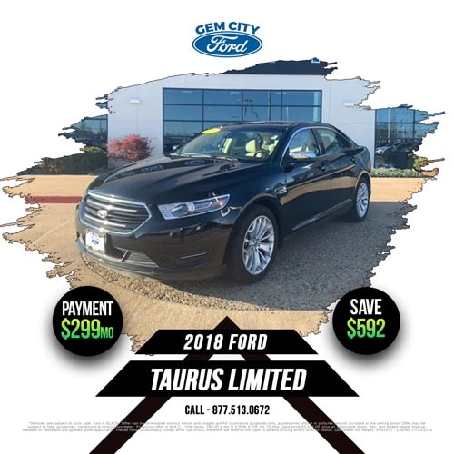 Used Vehicle Specials Gem City Ford Lincoln