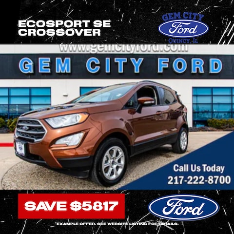2020 Ford EcoSport SE - Save Now!