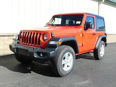 New 2018 Jeep Wrangler SPORT S 4X4 Sport Utility for sale/lease near Rochester, NY