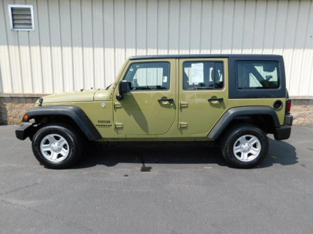 ... Used 2013 Jeep Wrangler Unlimited Sport SUV Near Rochester ...