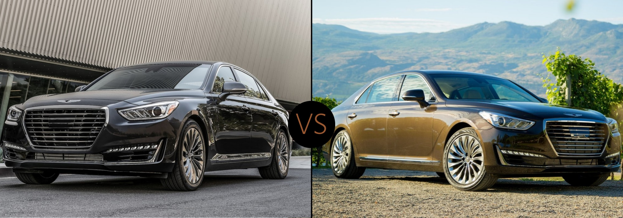 2020 Genesis G90 compared to the 2019 Genesis G90 exterior