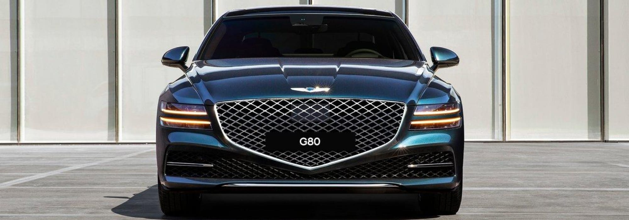 New 2021 Genesis G80 Luxury Sedan hero image