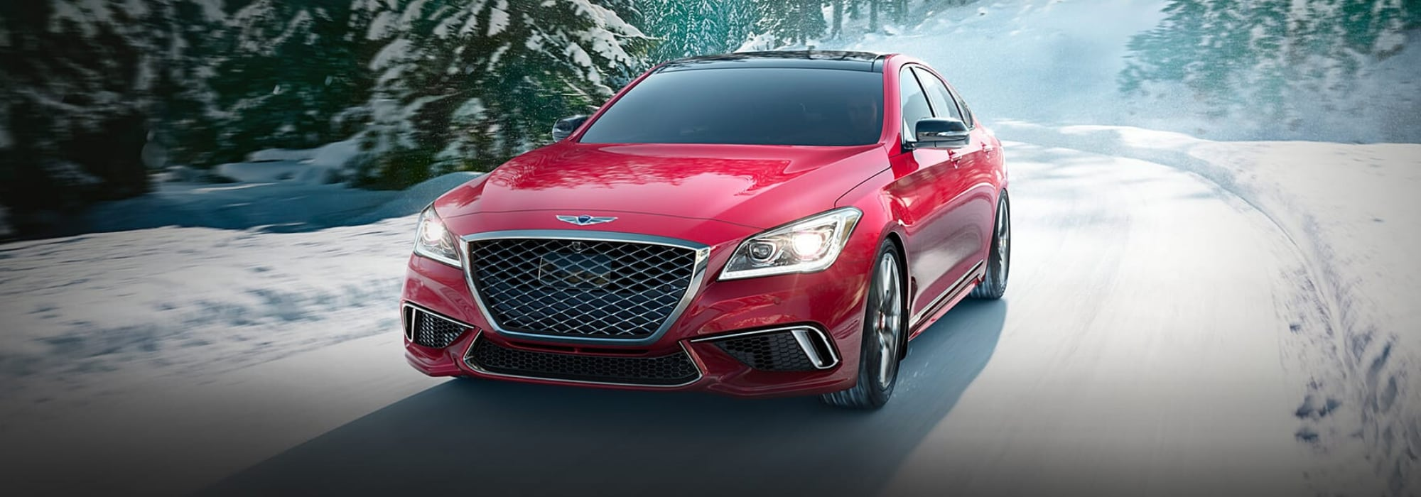 New 2020 Genesis G80 Luxury Sedan hero image