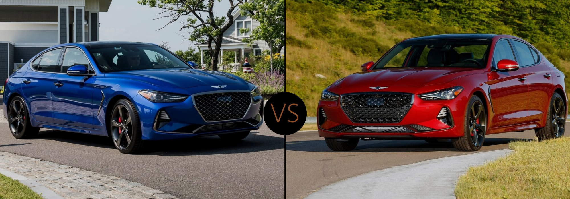 2020 Genesis G70 compared to the 2019 Genesis G70