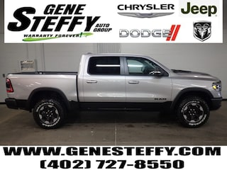 New Chrysler Dodge Jeep Ram Models 2019 Ram All-New 1500 REBEL CREW CAB 4X4 5'7 BOX Crew Cab for sale in Fremont, ND