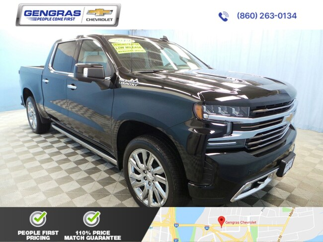2019 Chevrolet Silverado 1500 High Country 4WD Crew Cab 147 High Country