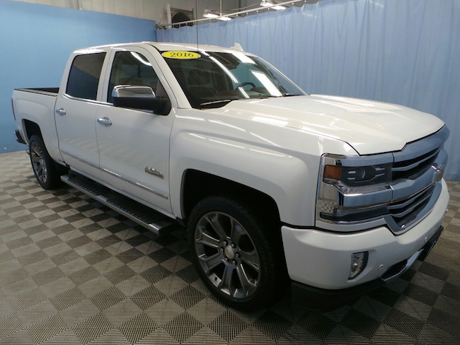 2016 Chevrolet Silverado 1500 High Country 4WD Crew Cab 143.5 High Country