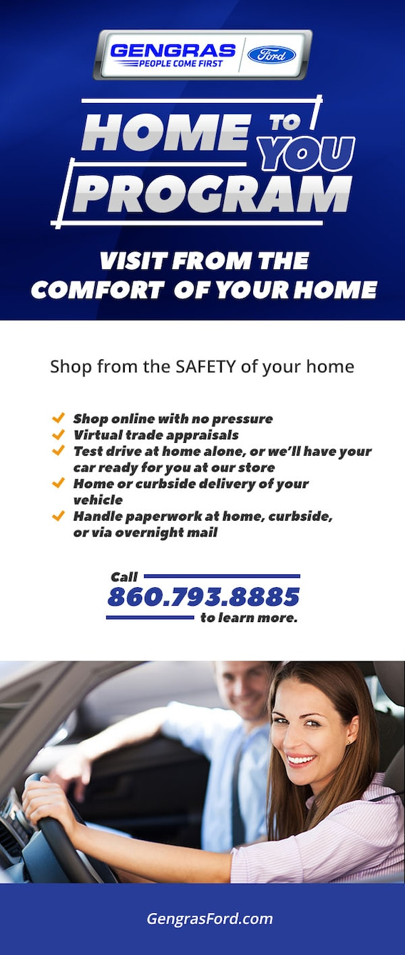 Shop From The Safety Of Your Home Gengras Ford