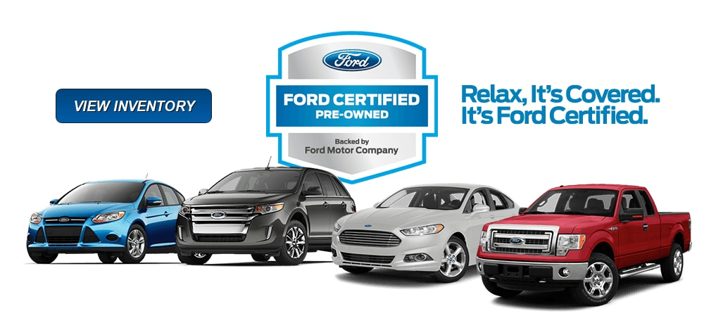 Ford Certified Pre Owned >> About Certified Pre Owned Vehicles Gentilini Ford Woodbine Nj