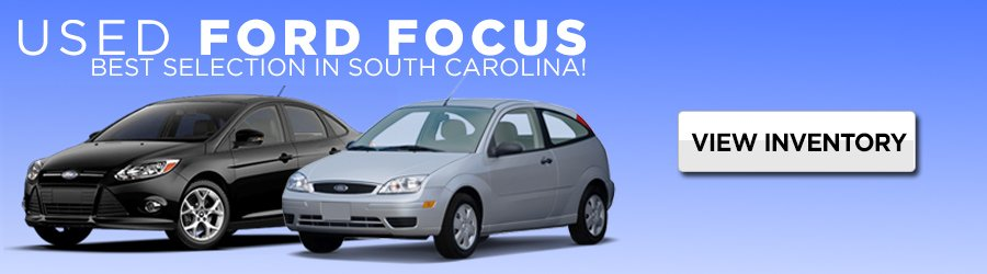 Used Ford Focus for Sale in South Carolina