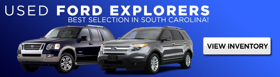 Used Ford Explorers in South Carolina