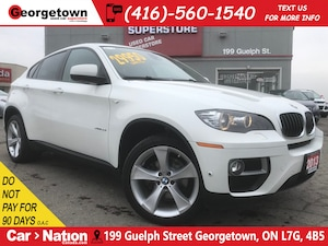 2013 BMW X6 xDrive35i | LEATHER | SUNROOF | NAVI | PWR GATE