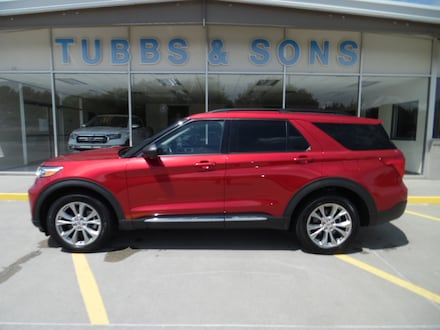 Used 2020 Ford Explorer XLT SUV for Sale in Colby, KS