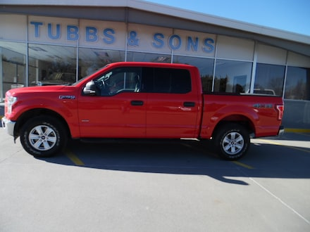 Used 2017 Ford F-150 XLT Truck SuperCrew Cab for Sale in Colby, KS