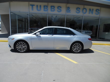 Used 2017 Lincoln Continental Select Sedan for Sale in Colby, KS