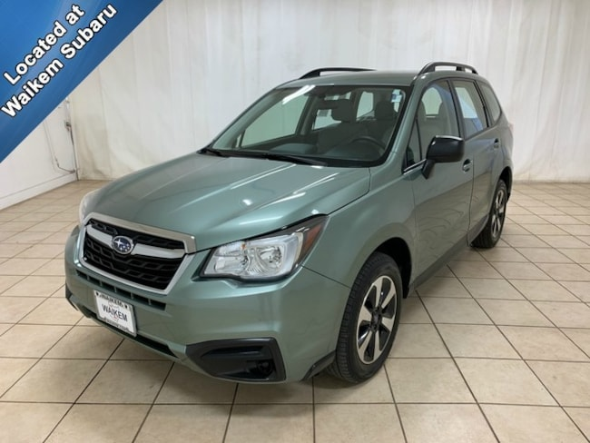 Certified Pre-Owned 2017 Subaru Forester 2.5i SUV for sale in Massillon, OH