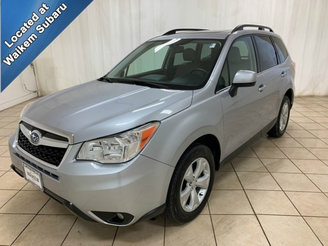 Certified Pre-Owned 2016 Subaru Forester 2.5i Limited SUV for sale in Massillon, OH