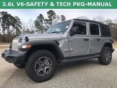 New 2018 Jeep Wrangler UNLIMITED SPORT S 4X4 Sport Utility Statesboro