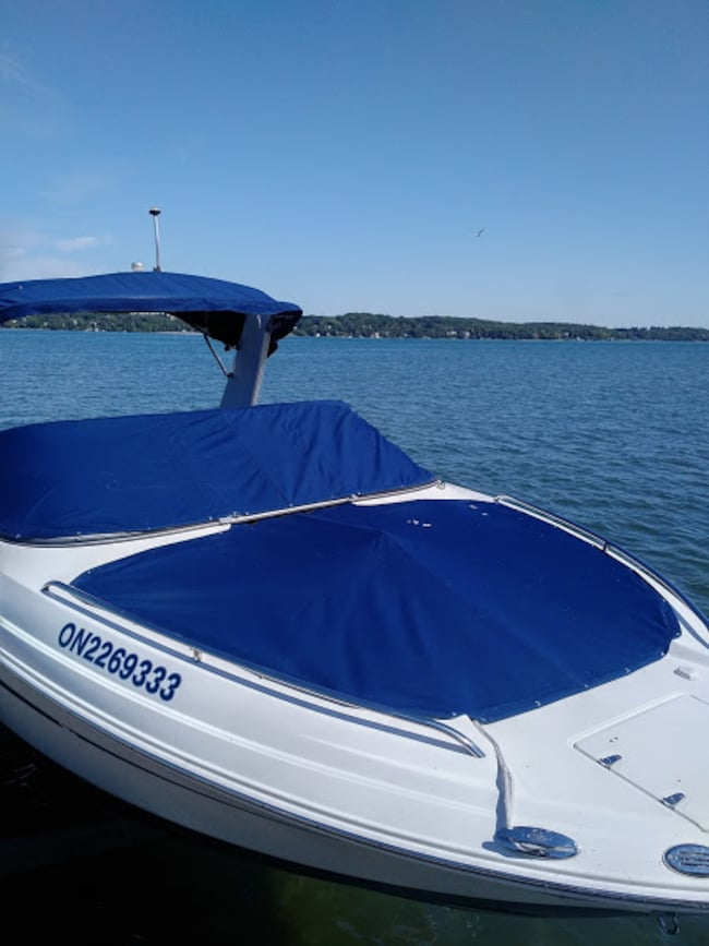 2010 CHAPARRAL 236 SSX Blue/white