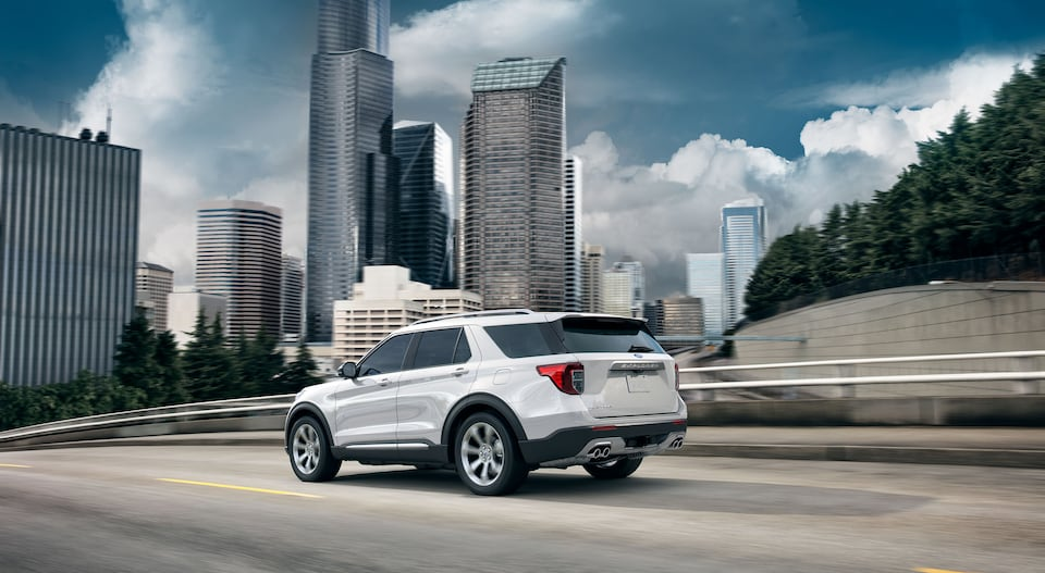 2020 Ford Explorer SUV Chicago Gerald Ford
