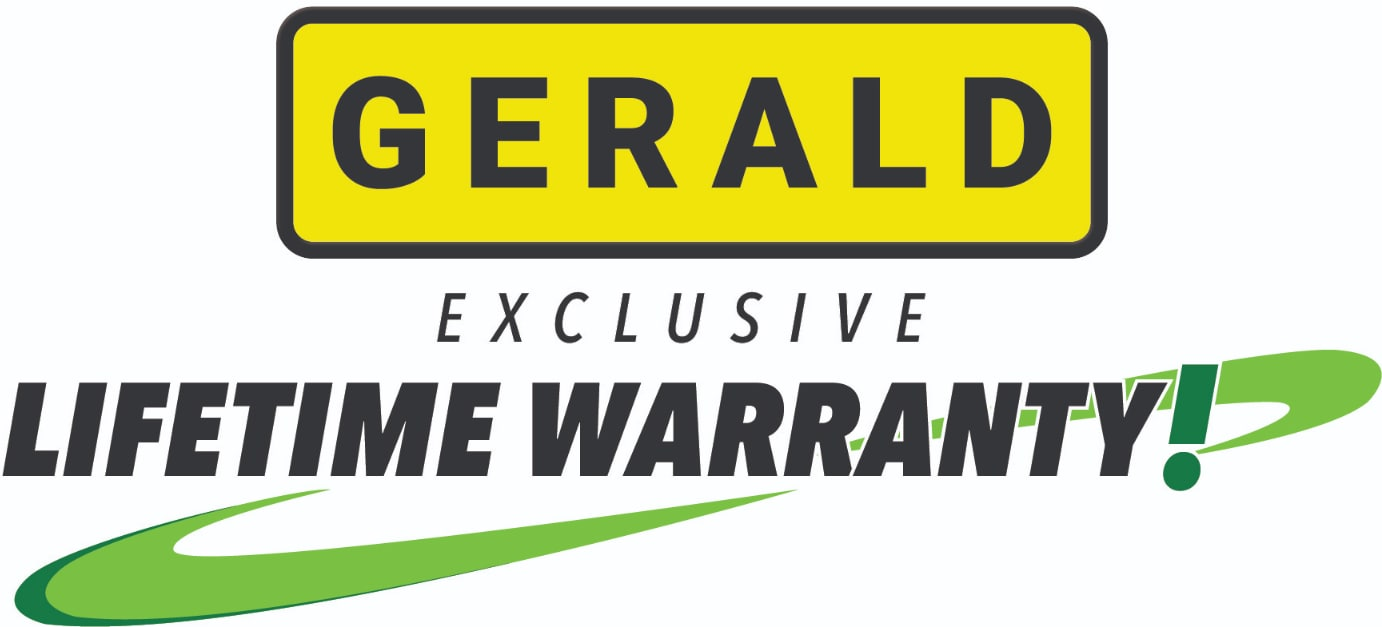 Gerald Exclusive Lifetime Warranty