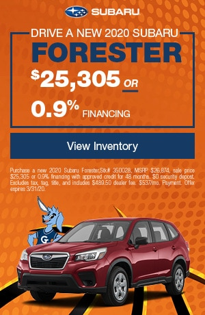 March Forester Offer