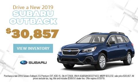 June 2019 Outback Cash Offer