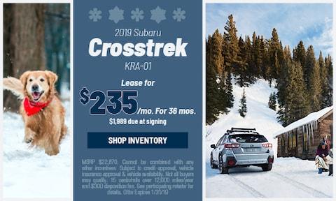 January '19 Crosstrek Offer