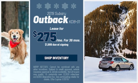 January '19 Outback Offer