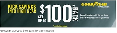 Get Up To $100 Back*
