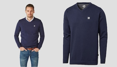 Volvo V-Neck Sweater On Sale!